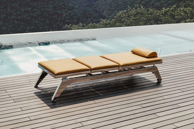 AQUADEVA stainless steel swimming pool